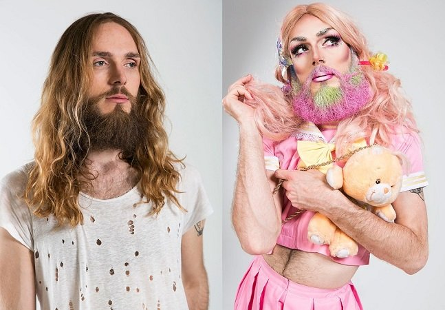 Ensaio destaca a incrível transformação  física e psicológica das drag queens
