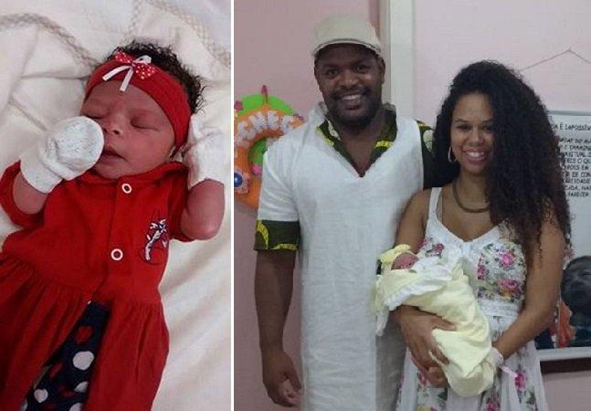 Este casal teve que apelar para a justiça para poder registrar sua filha com um nome africano