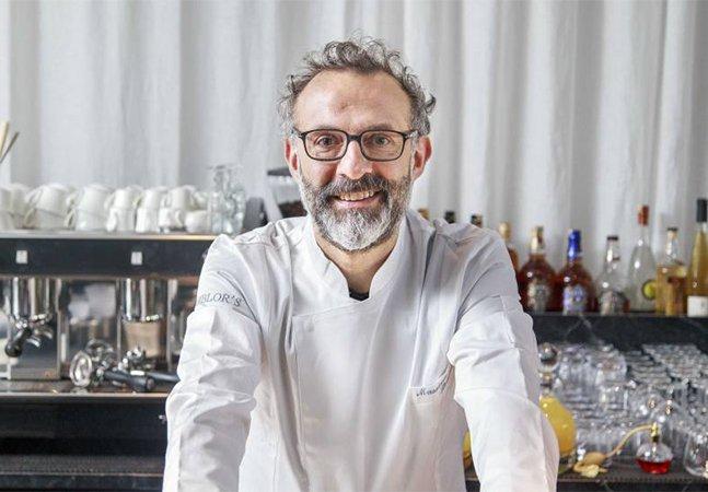 Massimo Bottura, chef do melhor  restaurante do mundo, vai cozinhar  pratos a preços populares no Brasil