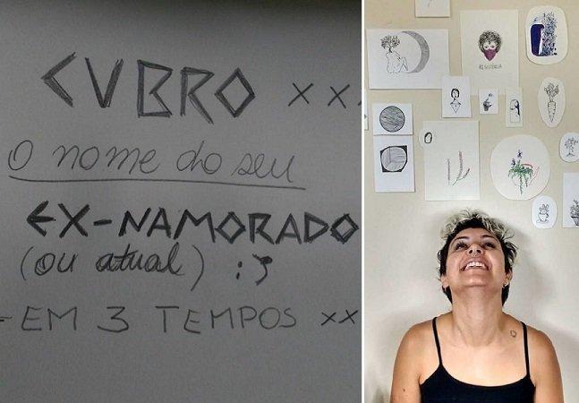 Tatuadora brasileira oferece desconto para mulheres cobrirem suas tattoos com nomes de namorados
