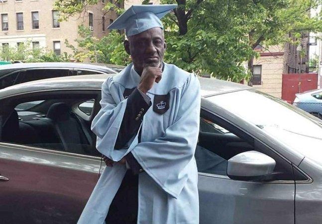 Aos 67 anos, este ex-traficante se formou  em filosofia na Columbia University