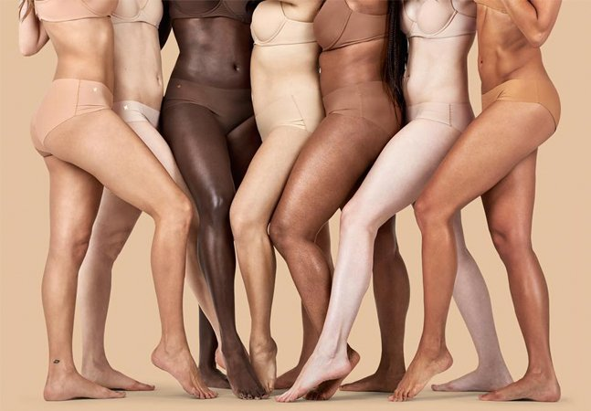 'Nude para todas': mulher lança linha de lingerie com 7 tons de pele