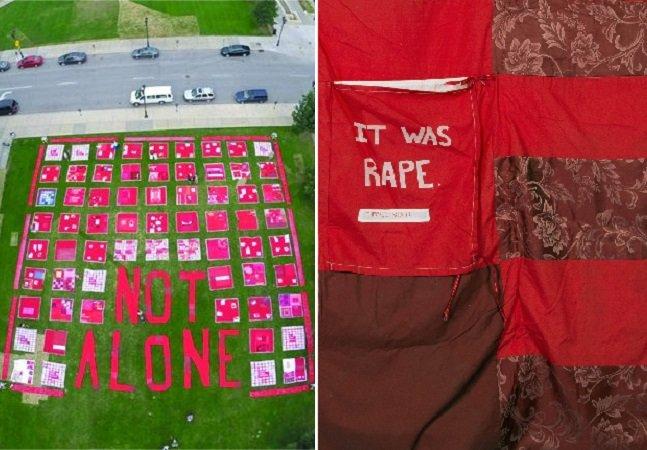 Projeto convoca sobreviventes de  estupro ou abuso para a criação de um monumento-protesto coletivo