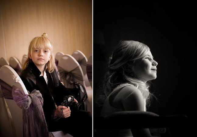 As pessoas estão pedindo pra essa menina de apenas 9 anos fotografar seus casamentos