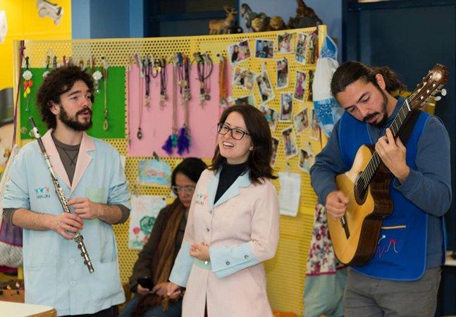 UTI para bebês em SP usa música para levar esperança para as famílias