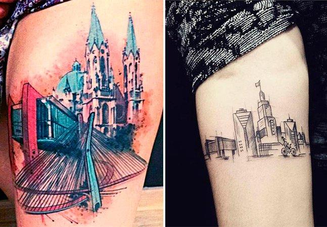 Amor eterno: quando a paixão por São Paulo vira tatuagem