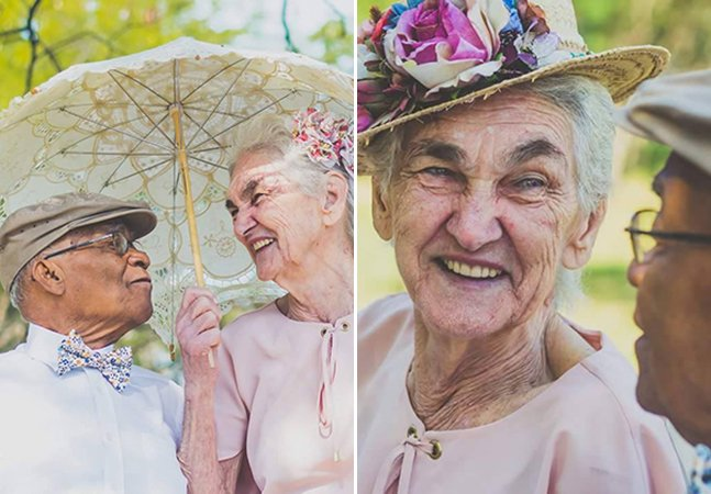 Casal brasileiro que viveu amor proibido celebra 60 anos de casamento em ensaio maravilhoso