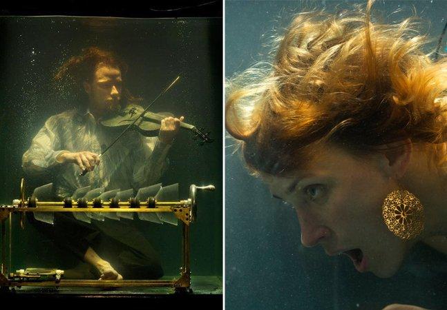 Esta banda toca debaixo d'água e o resultado é literalmente profundo – e maravilhoso
