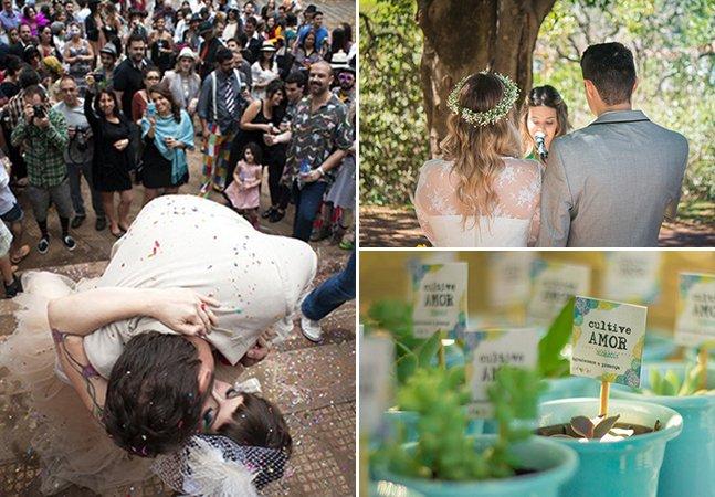 5 casamentos na praça que provam que é preciso de pouco para celebrar o amor