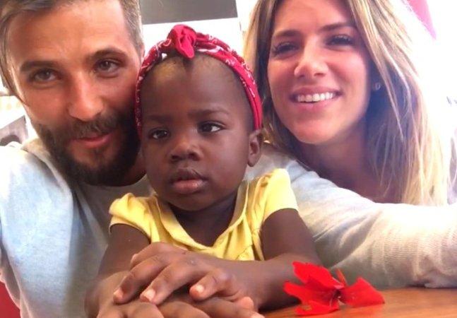 Giovanna Ewbank rebate  críticas após adoção  de menina do Malaui
