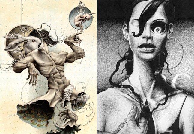 Conheça o surrealismo  erótico de Dimitry Vorsin