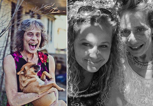 Ela documenta o dia a dia de sua mãe com vídeos e relatos poderosos pra mostrar como é a vida com esquizofrenia