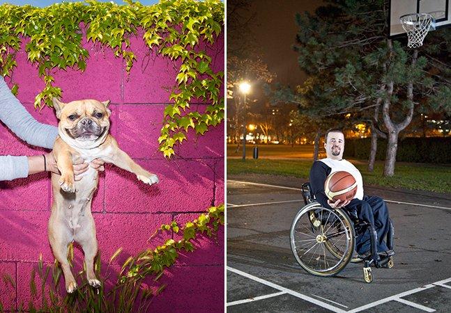 Fotógrafa retrata pessoas ao lado daquilo que as faz mais felizes