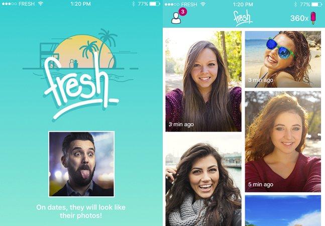 Fresh: novo app de relacionamentos que se parece com o Snapchat e evita surpresas nos encontros