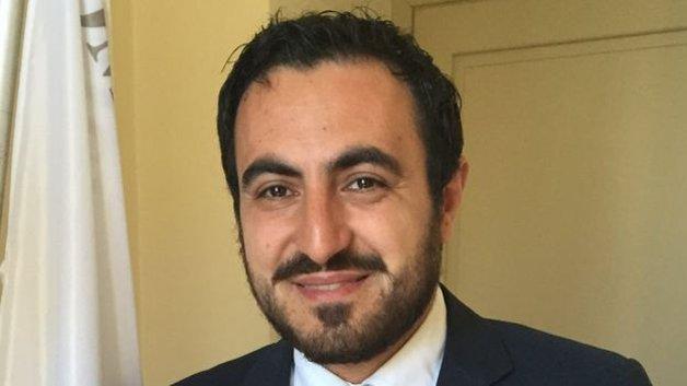 O prefeito Salvatore Fuda