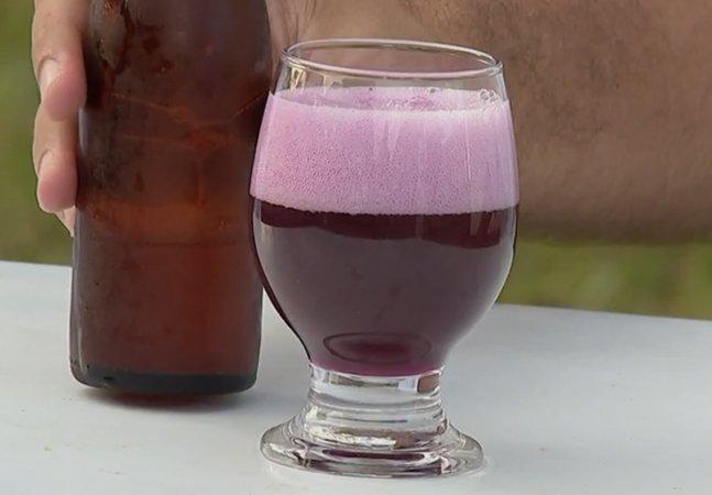 Estudante do interior de SP  desenvolve cerveja tipicamente  brasileira feita com jabuticaba