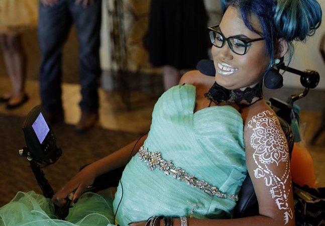 A emocionante 'última dança' da menina de 14 anos com uma doença incurável que escolheu partir