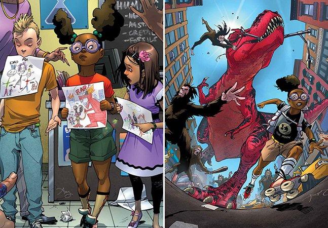 Uma jovem mulher negra é agora a personagem mais inteligente do universo da Marvel