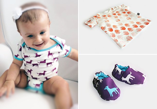 Casal brasileiro lança marca de roupas para bebês sem gênero e feita com algodão orgânico