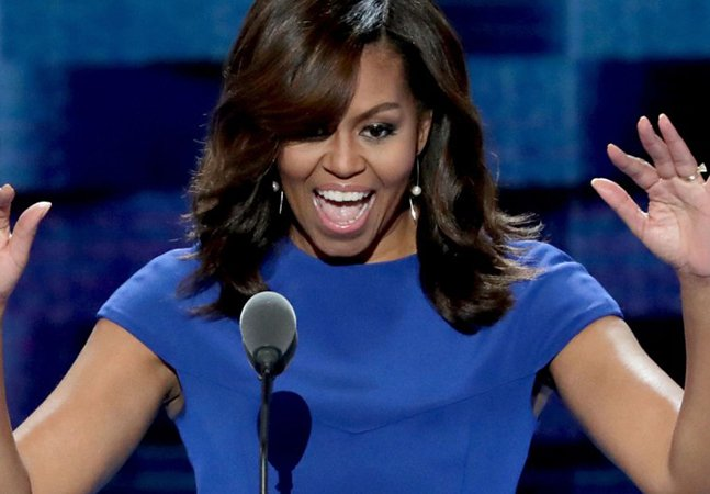 O poderoso, feminista e lacrador discurso de Michelle Obama que roubou a cena em convenção partidária
