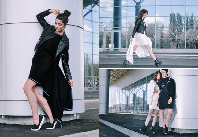 Este vestido incrível pode ser usado de 100 maneiras diferentes