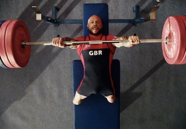 Campanha de TV inglesa para as  paralimpíadas mostra a força de  vontade e o talento desses atletas