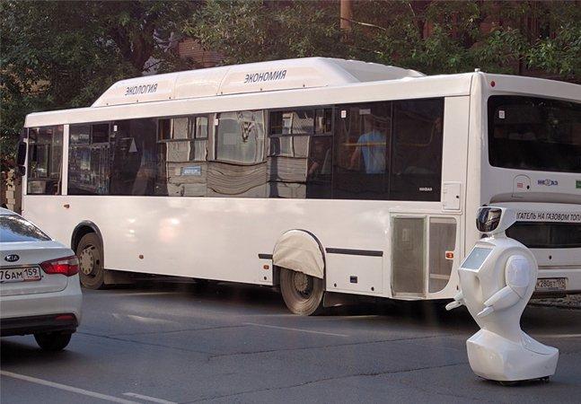 Robô foge de laboratório na Rússia e provoca confusão no trânsito