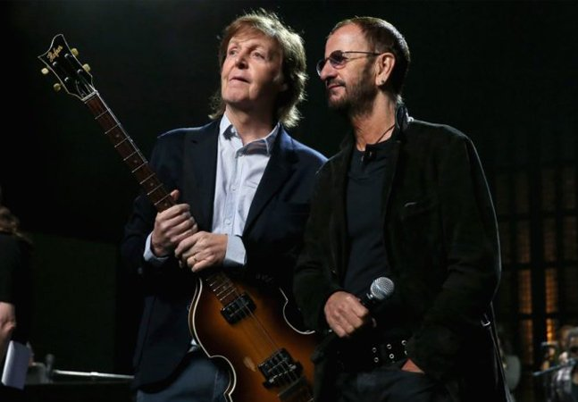 Ringo Starr diz que 'faria uma  turnê com Paul amanhã' e a internet vai ao delírio