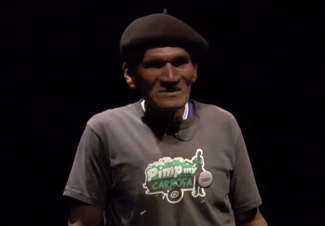 A homenagem do Hypeness ao seu Bahia, atleta da reciclagem brasileiro