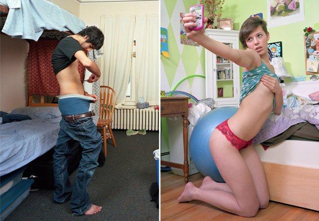 Fotógrafo capta a realidade e os perigos do 'sexting', fenômeno de partilha de fotos íntimas nas redes