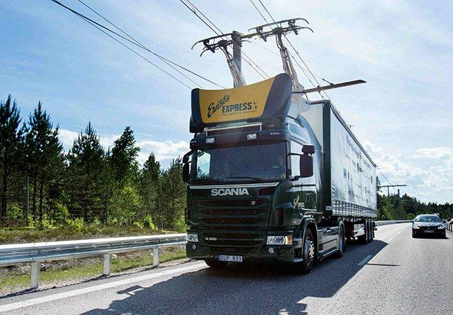 Suécia inaugura primeira estrada elétrica do mundo e o planeta agradece