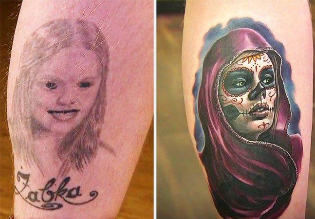 Estas tattoos 'consertadas' são a prova  de que nem tudo está perdido