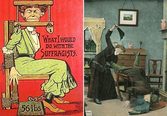 Essas propagandas do início do  século 20 nos ajudam a entender  como o machismo foi disseminado