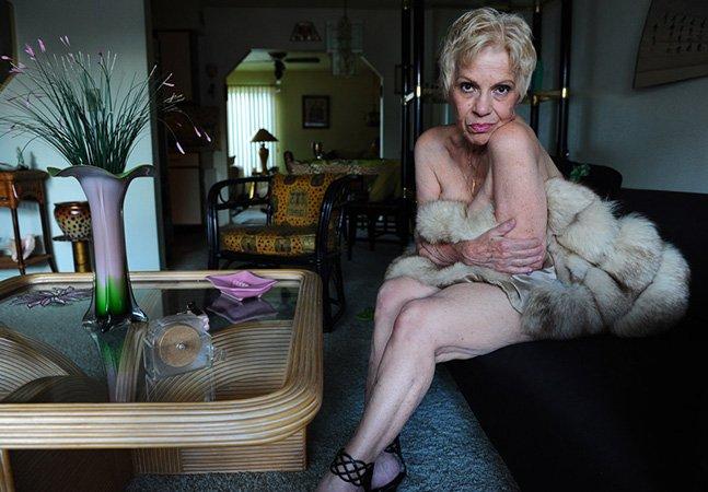 Fotógrafa capta vovós strippers que romperam com vários preconceitos da sociedade