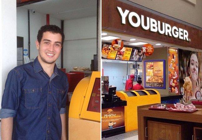 Brasileiro larga emprego pra seguir sonho de vender hamburguers e fatura milhões com fast food inteligente