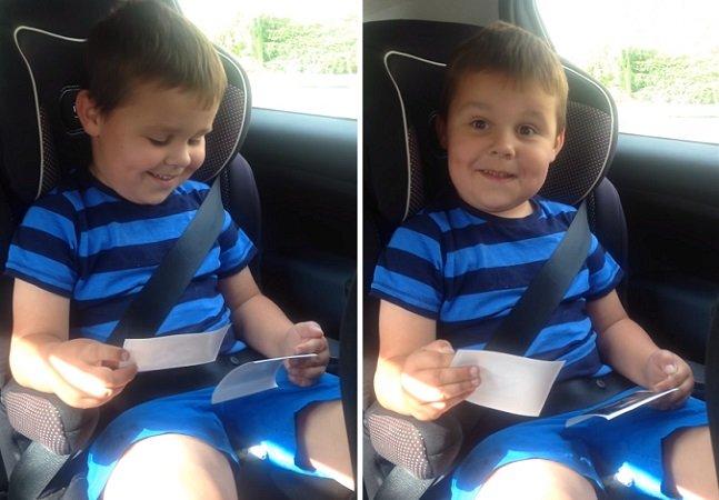 A reação deste garoto ao saber que vai ganhar um irmão é a coisa mais linda que você vai ver hoje
