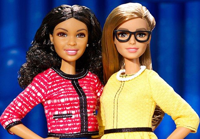 Mattel lança Barbie presidenta e vice para encorajar meninas a se tornarem líderes políticas