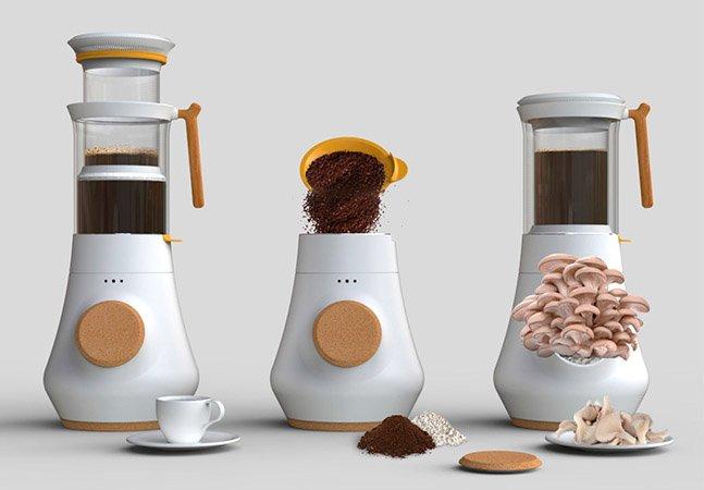 Essa é uma excelente maneira de dar  uma finalidade útil à borra do seu café