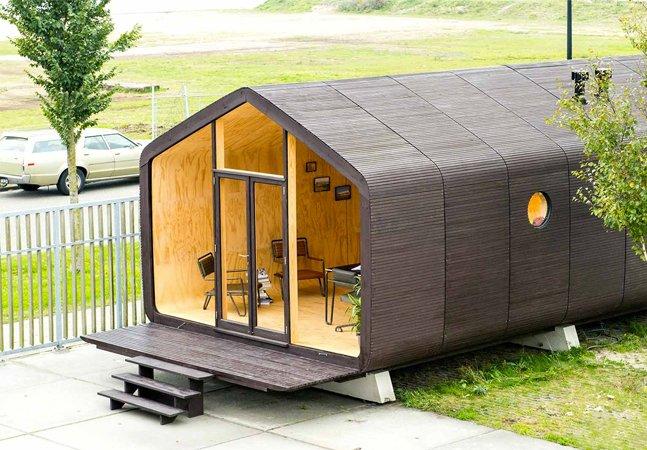 Holanda tem casa sustentável que pode ser construída em apenas um dia