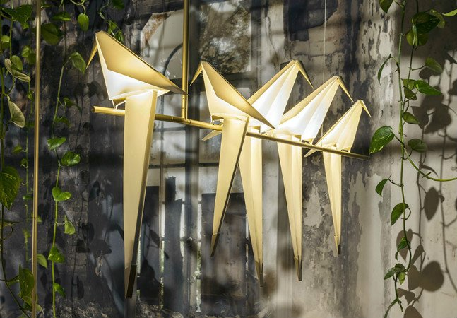 Luminárias de origami levam luz e equilíbrio para dentro da sua casa
