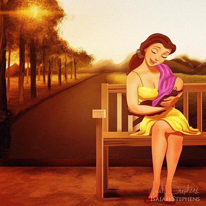 disney-princesses-reimagined-as-moms-isaiah-stephens-7-578f2c44dd009__700