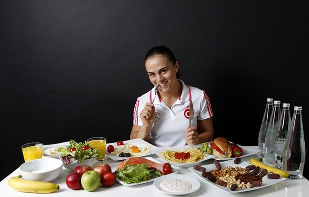 elif-jale-yesilirmak-is-a-wrestler-she-was-also-at-the-3000-calories-per-day-mark-but-she-swore-by-fish-like-salmon-instead-of-red-meat-and-she-drank-lots-of-water-to-stay-hydrated