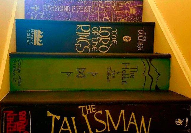 Eles encontraram uma maneira  incrível de despertar o  interesse da filha pelos livros