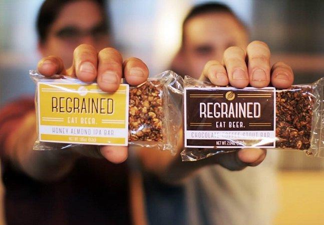 Eles encontraram uma forma criativa  de combater o desperdício de  ingredientes na produção de cerveja