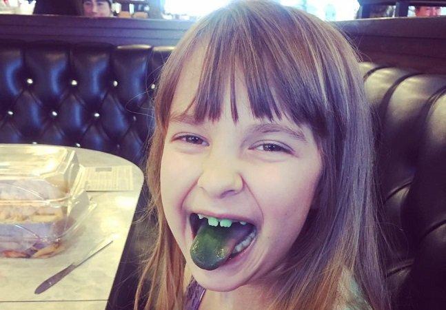 O emocionante tributo feito em imagens para uma menina de 7 anos vítima de câncer