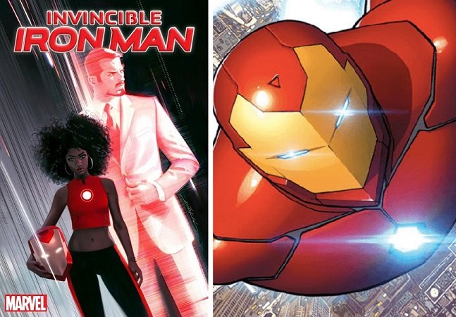 O novo 'homem de ferro' da Marvel será uma adolescente negra