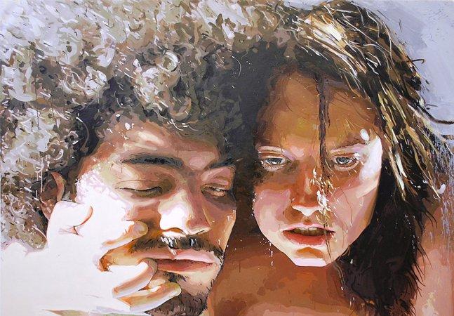 Conheça a pintura visceral e erótica de Patrick Earl Hammie