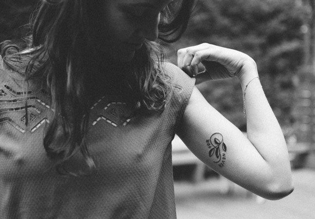 Você precisa conhecer as tattoos  simples e estilosas de Johanna Olk