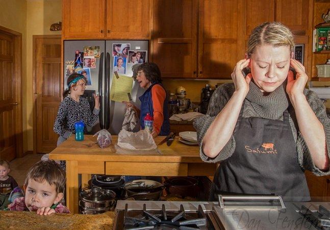 Fotógrafo cria série poderosa para mostrar como é a vida com transtorno obsessivo-compulsivo