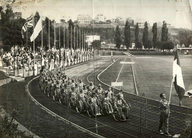 Os jogos paralímpicos de Roma